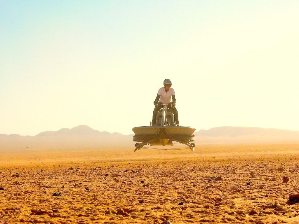 Aero-X, la moto voladora inspirada en Star Wars