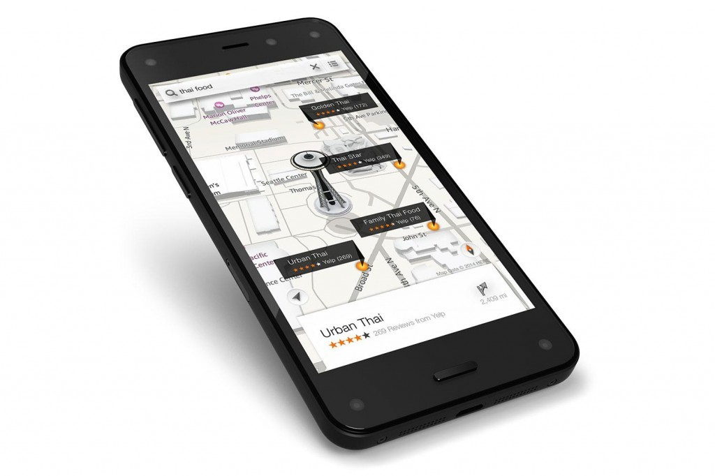 Amazon presenta el Fire Phone