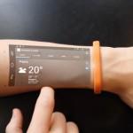 Cicret Bracelet proyecta tu smartphone en tu piel
