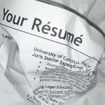 Errores digitales que no debemos cometer para mostrar un buen CV.