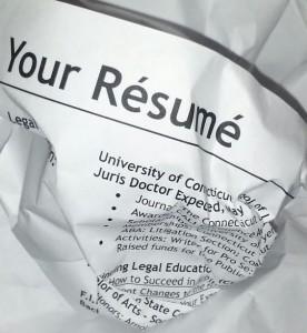 Errores digitales que no debemos cometer para mostrar un buen CV