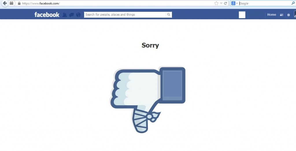 Facebook pide disculpas por el dolor causado