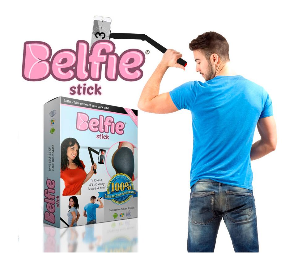 Fotografiarte el culo ya es posible gracias a Belfie Stick