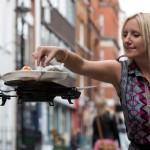 Infinium-Server, los nuevos Drones camareros y voladores