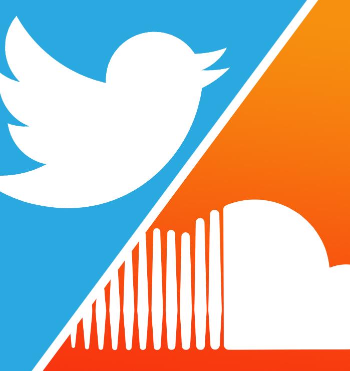 La fusión de Twitter y SoundCloud