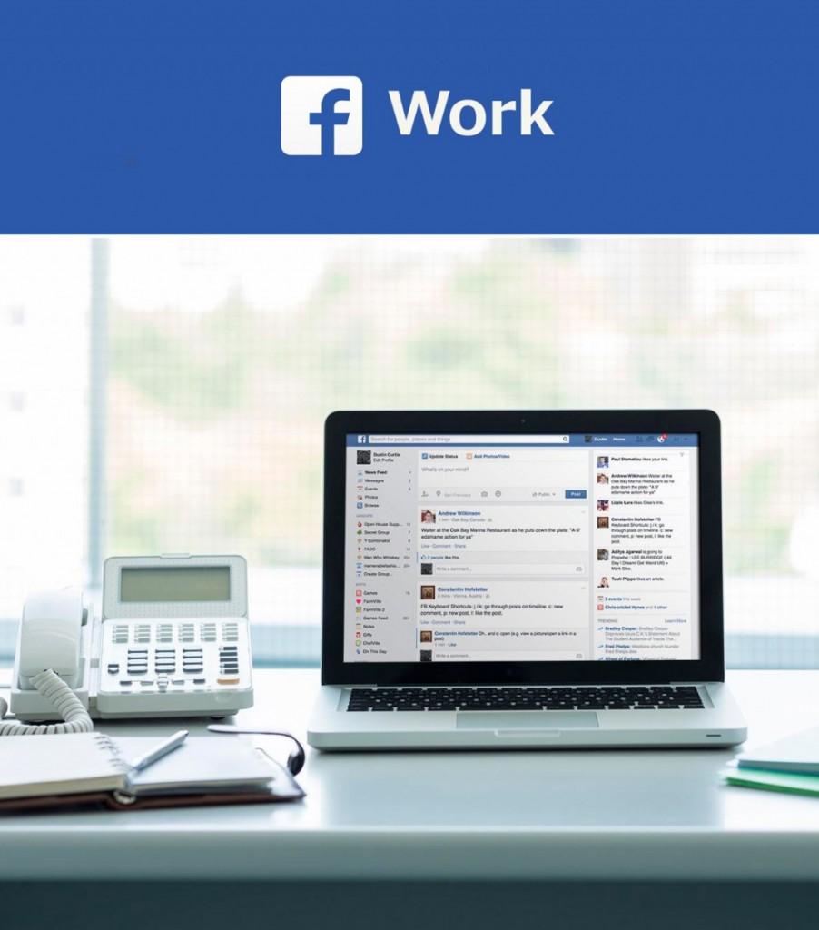Llega Facebook at Work, la nueva competencia de LinkedIn