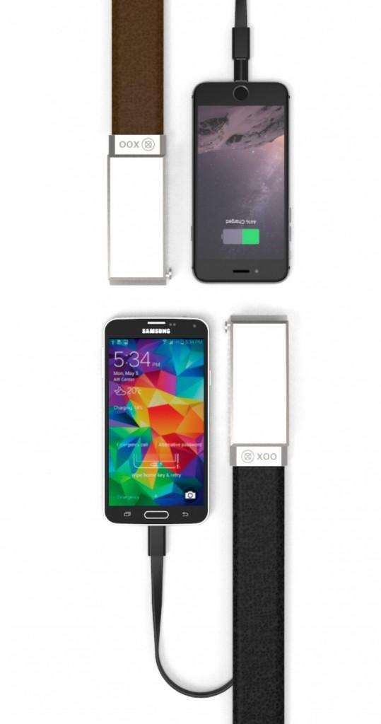Xoo Belt, el cinturón que recarga tu smartphone
