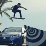La Lexus Hoverboard pasa la prueba en Barcelona