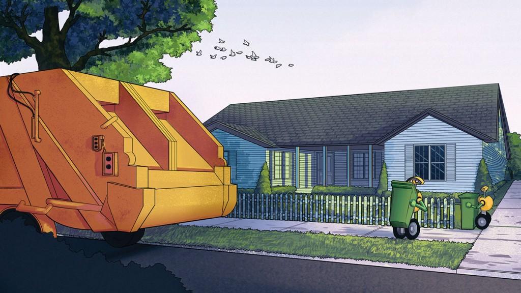 robots que recogen la basura