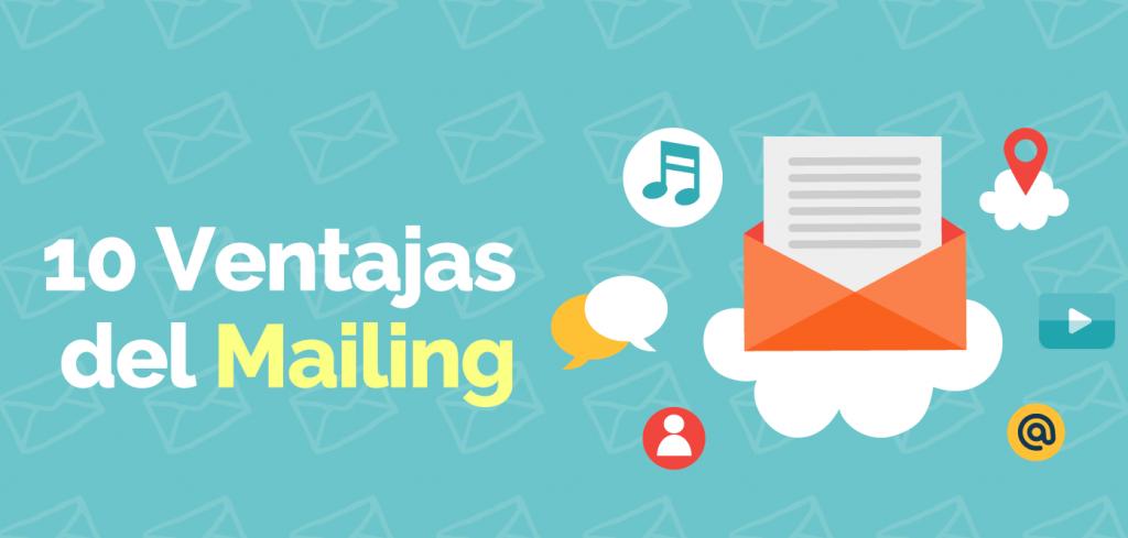 banner ventajas del mailing